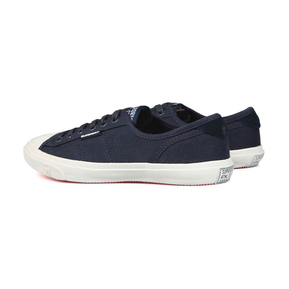 Superdry Womens Blue Low Pro Trainer main image