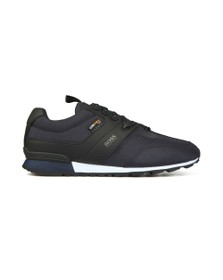 BOSS Mens Blue Parkour Trail Trainer