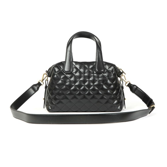 Love Moschino Womens Black Quilted Bowler Bag main image
