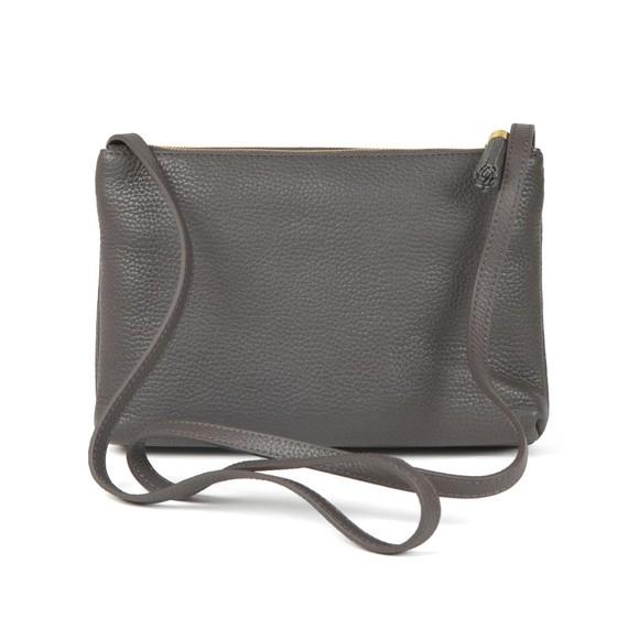 Ted Baker Womens Grey Maceyy Tassle Double Zipped XBody Bag main image