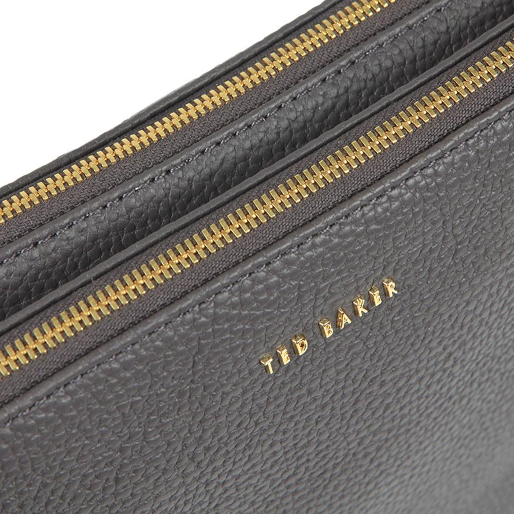 Maceyy Tassle Double Zipped XBody Bag main image