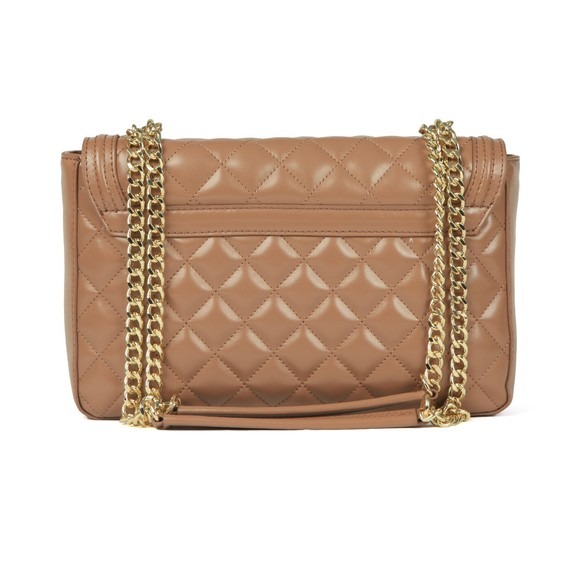 Love Moschino Womens Brown Borsa Quilted Bag main image