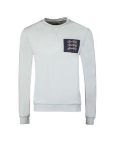 Kent & Curwen Mens Blue 1926 Lions Sweatshirt