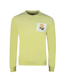 Kent & Curwen Mens Yellow 1926 Sweatshirt