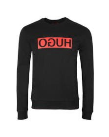HUGO Mens Black Dicago Sweatshirt