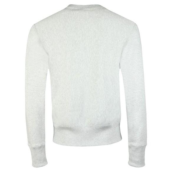 Champion Reverse Weave Mens Grey Small Script Logo Sweatshirt main image