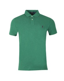 Polo Ralph Lauren Mens Green Slim Fit Polo Shirt