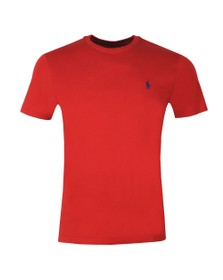 Polo Ralph Lauren Mens Red Custom Slim Fit T-Shirt