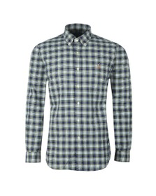 Polo Ralph Lauren Mens Blue Classic Small Multi Check LS Shirt