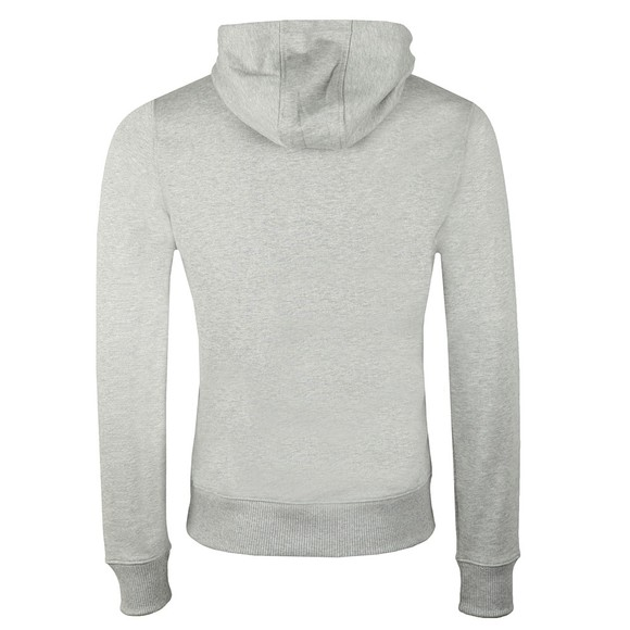 Tommy Hilfiger Mens Grey Flag Chest Insert Hoodie main image