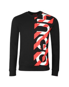 HUGO Mens Black Dosaka Sweatshirt