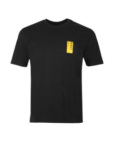 HUGO Mens Black Deoul T-Shirt