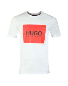 HUGO Mens White Dolive 194 T Shirt