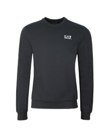 EA7 Emporio Armani Mens Blue Logo Sweat