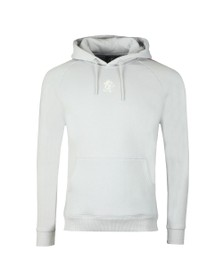 Gym King Mens Grey Newton Tape Hoodie