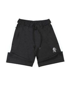 Gym King Mens Black Core Poly Plus Short