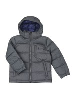 Boys Detachable Hood Puffer