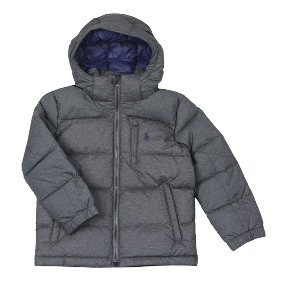 Polo Ralph Lauren Boys Grey Boys Detachable Hood Puffer main image