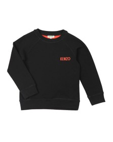 Kenzo Kids Boys Black Gepetto Japanese Dragon Sweatshirt