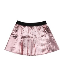 Kenzo Kids Girls Metallic Pink Gwenn Super Kenzo Skirt