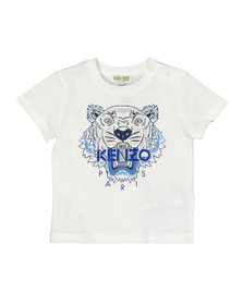 Kenzo Baby Boys White Tiger T Shirt