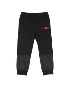 Kenzo Kids Boys Black Galion Japanese Dragon Jogger