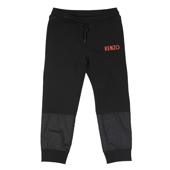 Kenzo Kids Boys Black Galion Japanese Dragon Jogger main image