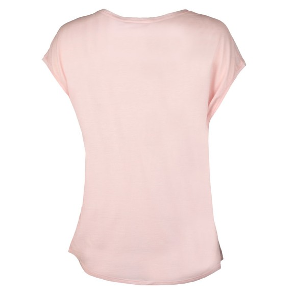 Ted Baker Womens Pink Santula Raspberry Ripple T-Shirt main image