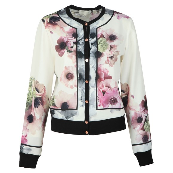 Ted Baker Womens Off-White Eyala Neopolitan Cardigan main image