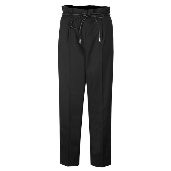Ted Baker Womens Black Eviia Belted Tapered Trouser main image