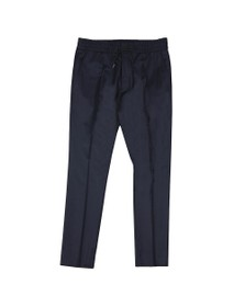 HUGO Mens Blue Zander194 Trouser