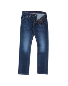 Tommy Hilfiger Mens Blue Denton Straight Flex Jean
