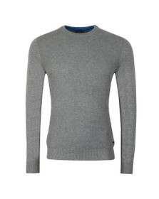BOSS Mens Grey Casual Albonoko Jumper
