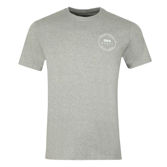 Edwin Mens Grey Trademark T Shirt main image