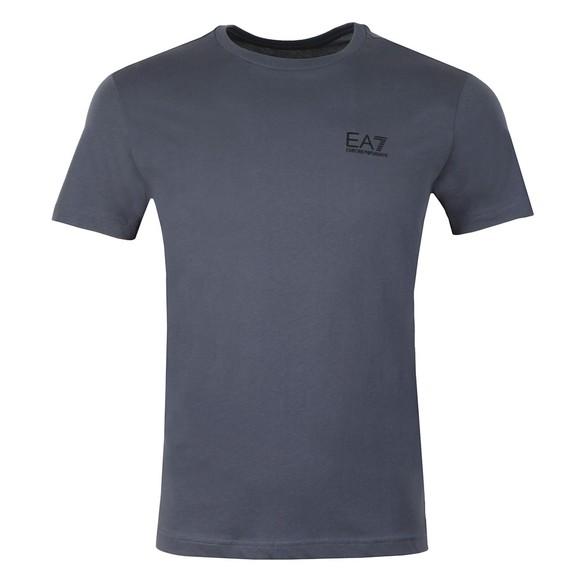 EA7 Emporio Armani Mens Blue Logo Tee main image