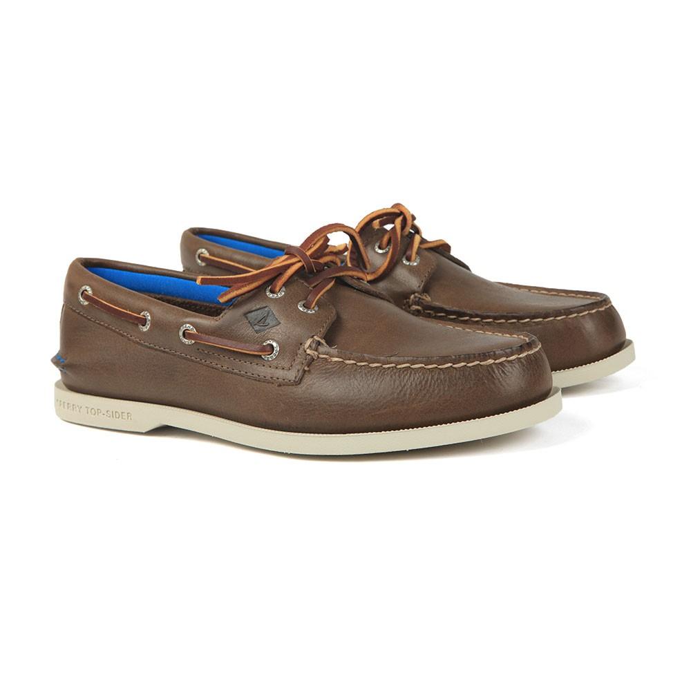 A/O 2 Eye Plush Boat Shoe main image