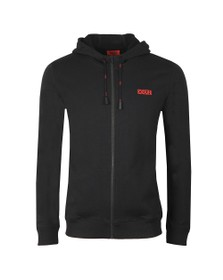 HUGO Mens Black Daple 194 Hoody