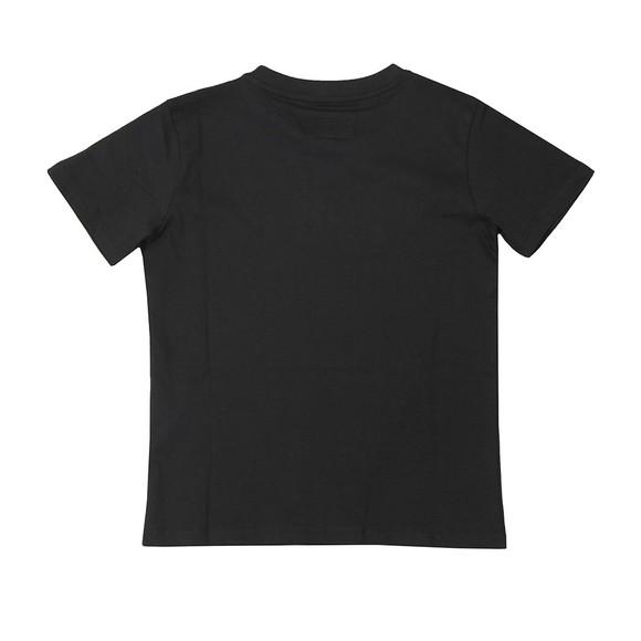 Emporio Armani Boys Black Boys Mirror Logo T Shirt