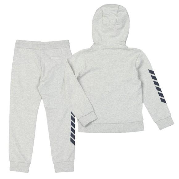 Emporio Armani Boys Grey Full Zip Logo Tracksuit main image