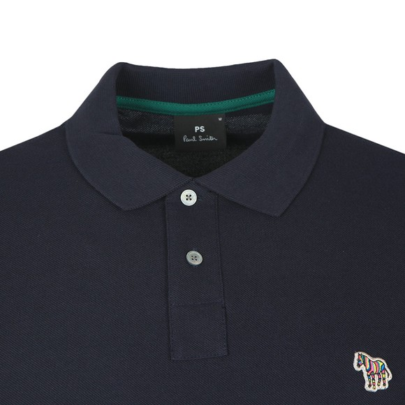 PS Paul Smith Mens Blue Zebra Polo Shirt main image