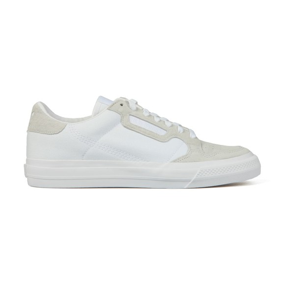 adidas Originals Mens White Continental Vulc Trainer main image