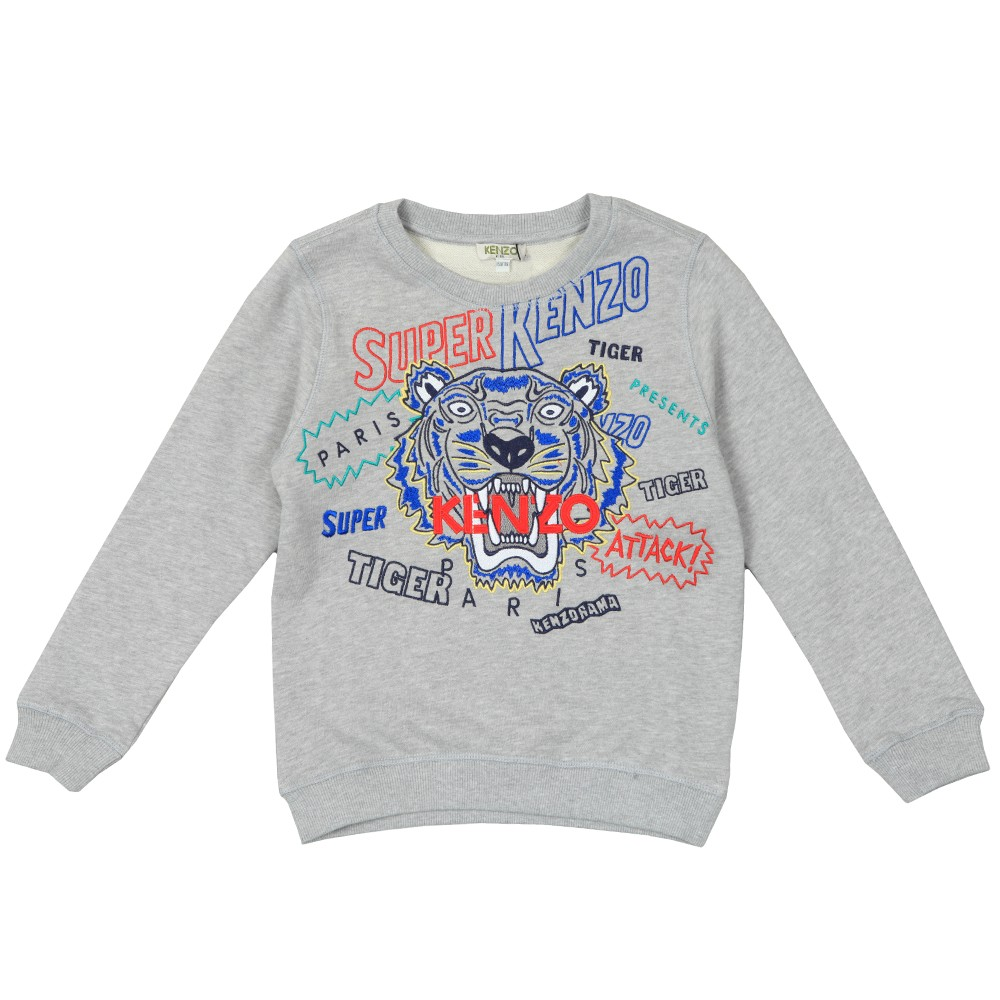 Super Kenzo Tiger Sweatshirt main image