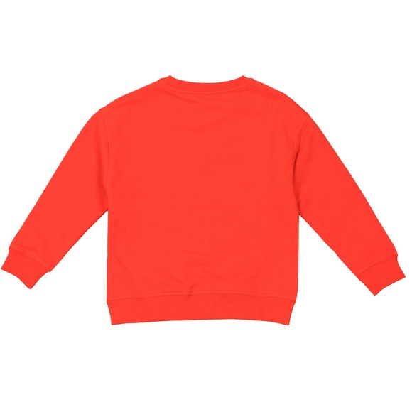 Kenzo Kids Boys Orange Japanese Dragon Tiger Sweatshirt main image