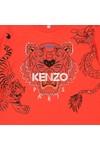 Kenzo Kids Boys Orange Boys Japanese Dragon Tiger T Shirt