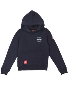Alpha Industries Boys Blue Boys Space Shuttle Hoody