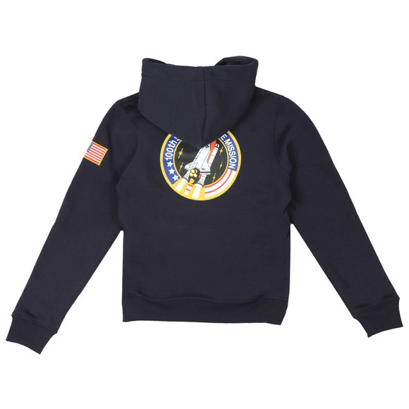 Alpha Industries Boys Blue Boys Space Shuttle Hoody main image