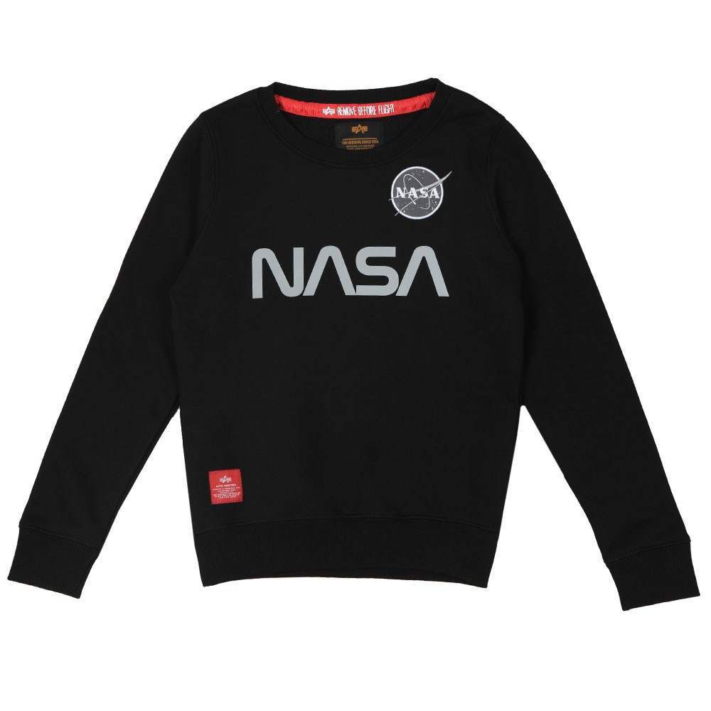 Boys Nasa Reflective Sweatshirt main image