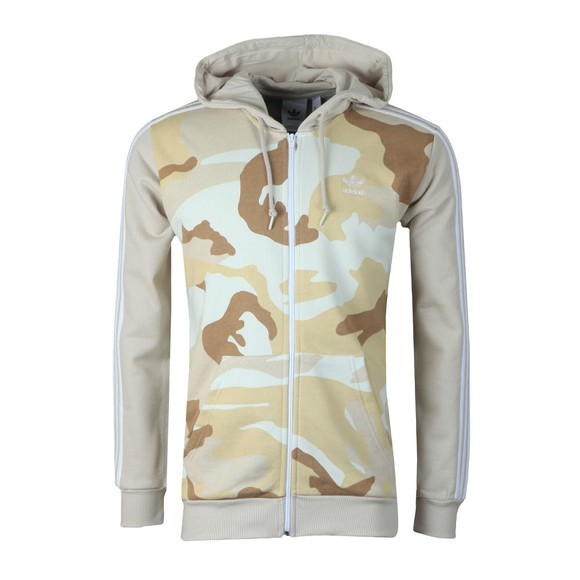 adidas Originals Mens Multicoloured Camo Full Zip Hoodie