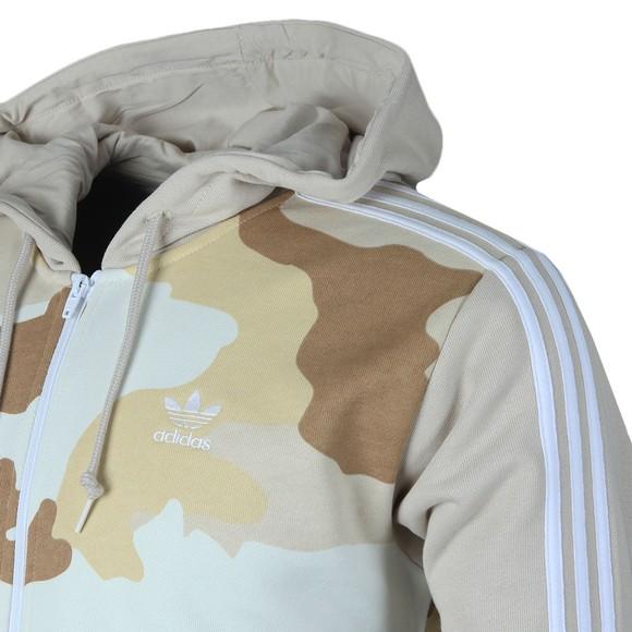 adidas Originals Mens Multicoloured Camo Full Zip Hoodie main image