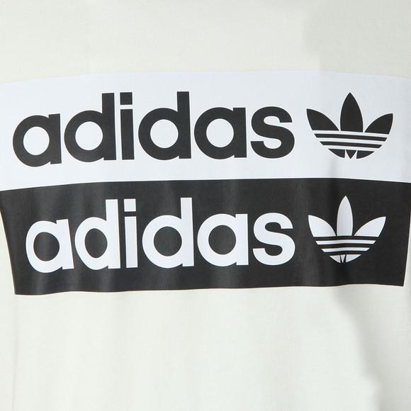 adidas Originals Mens White Vocal Logo Tee main image